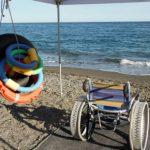 """Savona: """"Scaletto senza scalini"""", al mare senza barriere"""