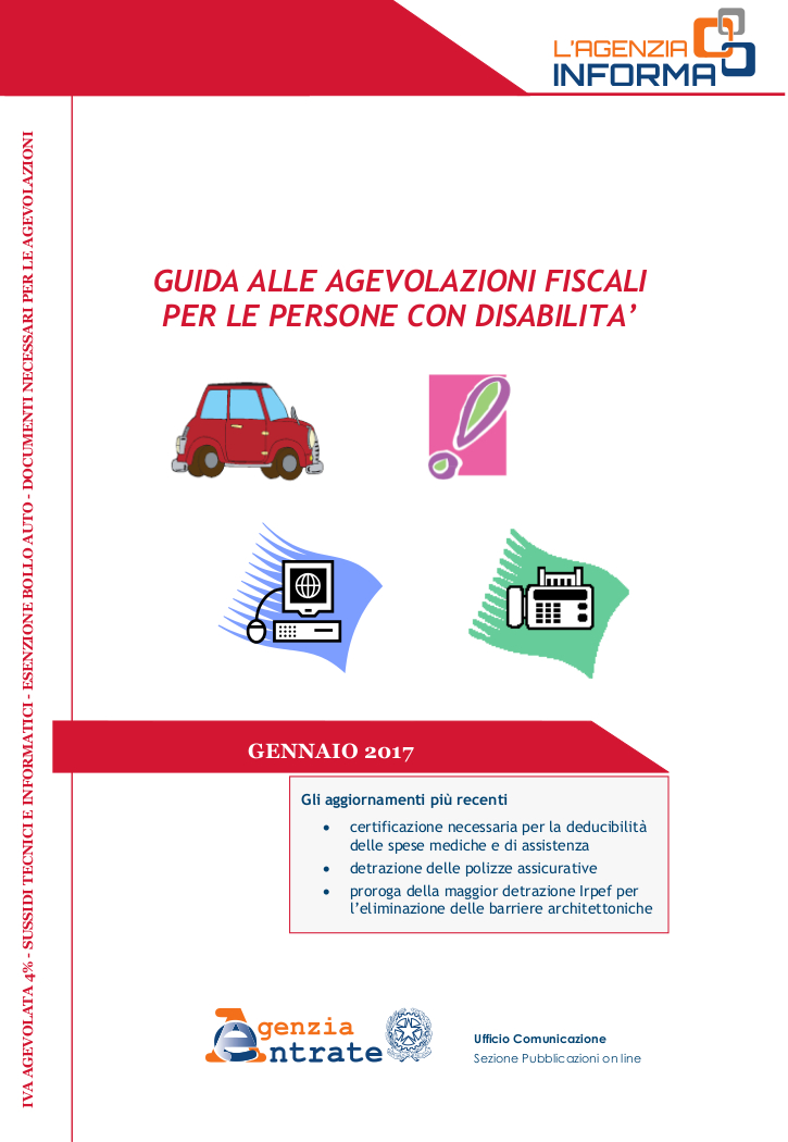 Agevolazioni fiscali for Legge 104 agevolazioni fiscali elettrodomestici