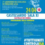 CASTELSARDO UNITA PER LA SLA: 24 E 25 APRILE DOPPIO APPUNTAMENTO PER LA RICERCA