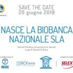 Il 20 giugno sarà inaugurata a Roma la Biobanca Nazionale SLA
