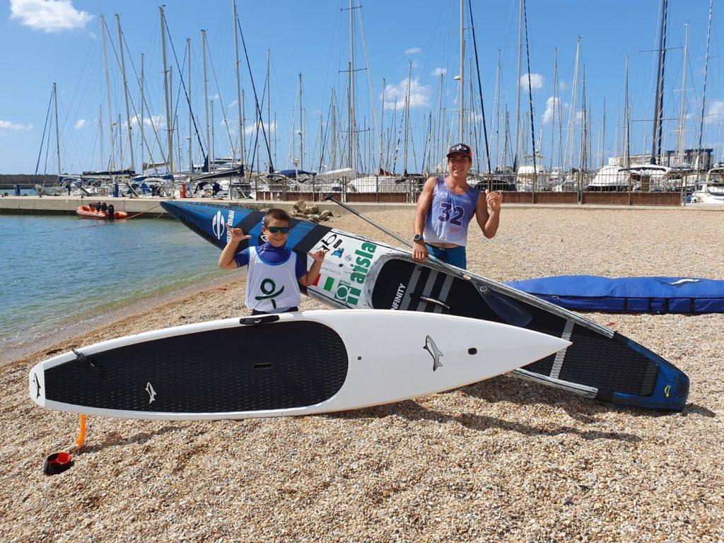 Pietro (7 anni) e Riccardo sono nipoti del volontario Stefano Cavicchioli di AISLA PIOMBINO