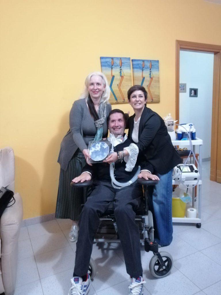 Chantal Borgonovo, Davide La Paglia, Daniela Amico (moglie di Davide La Paglia)
