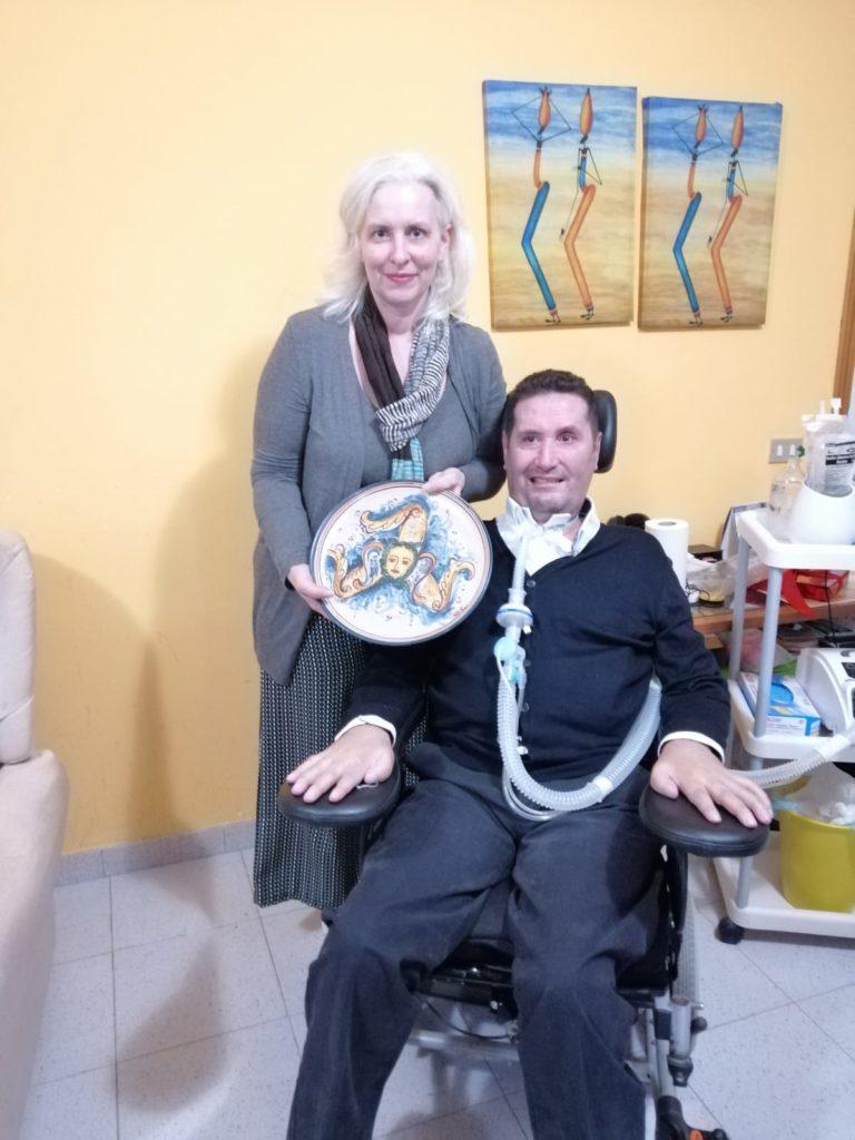 Chantal Borgonovo, Davide La Paglia